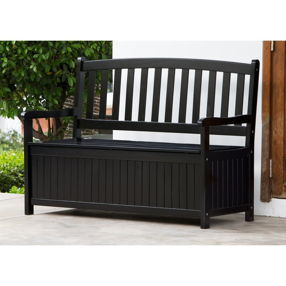 Outdoor storage bench Storage bench outdoor