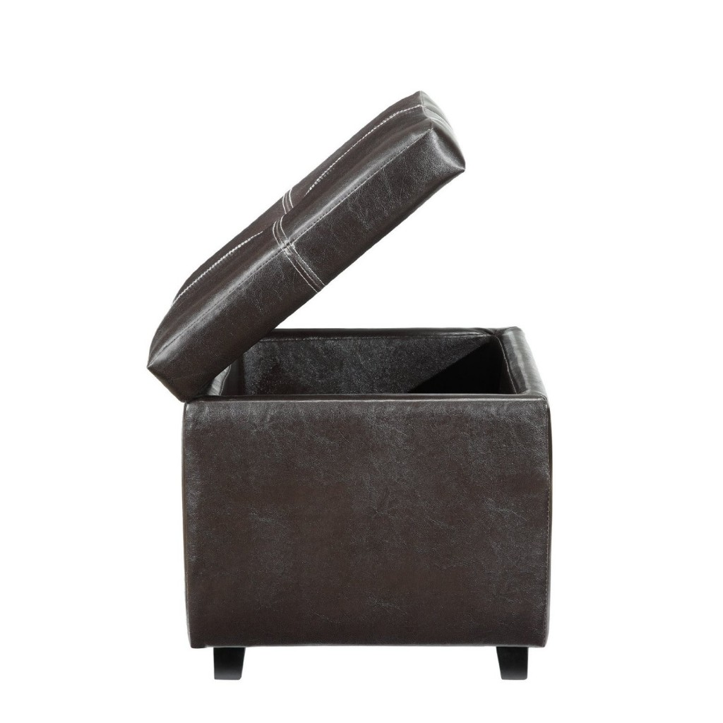 A Storage Cube Ottoman Makes An Excellent Small Storage Space And More - Ottoman Storage The Storage Home Guide