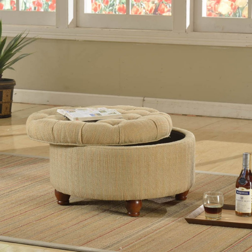 Because storage ottomans are meant to match your existing furniture, it  means that they come in a large variety of materials to do so. - Ottoman Storage The Storage Home Guide